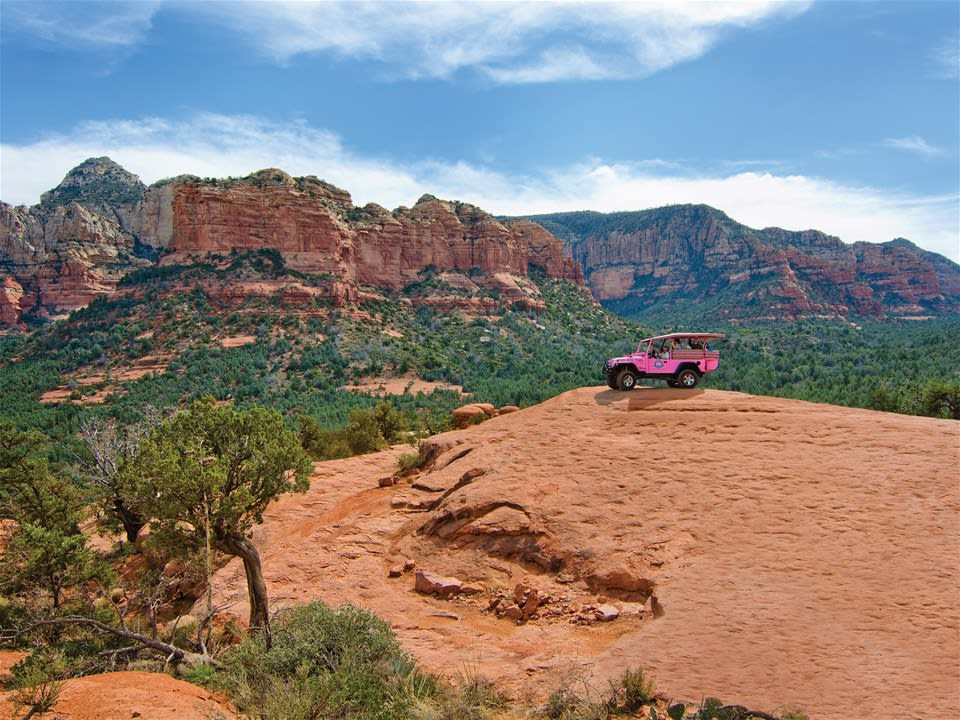 Broken Arrow Jeep Tour Sedona
