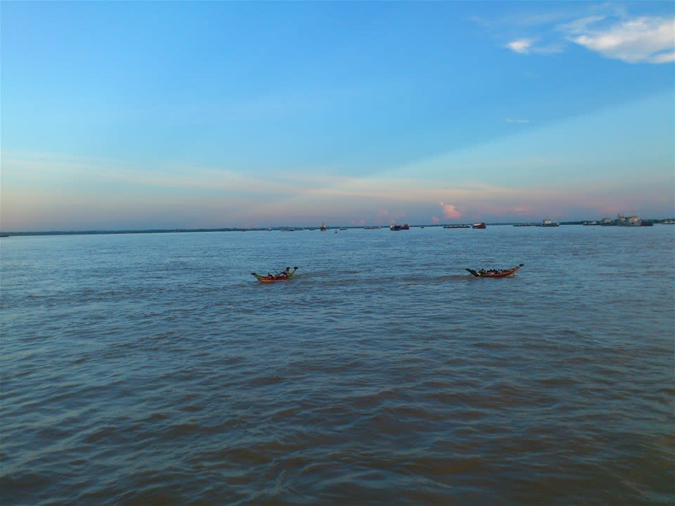 Yangon Sunset Cruise