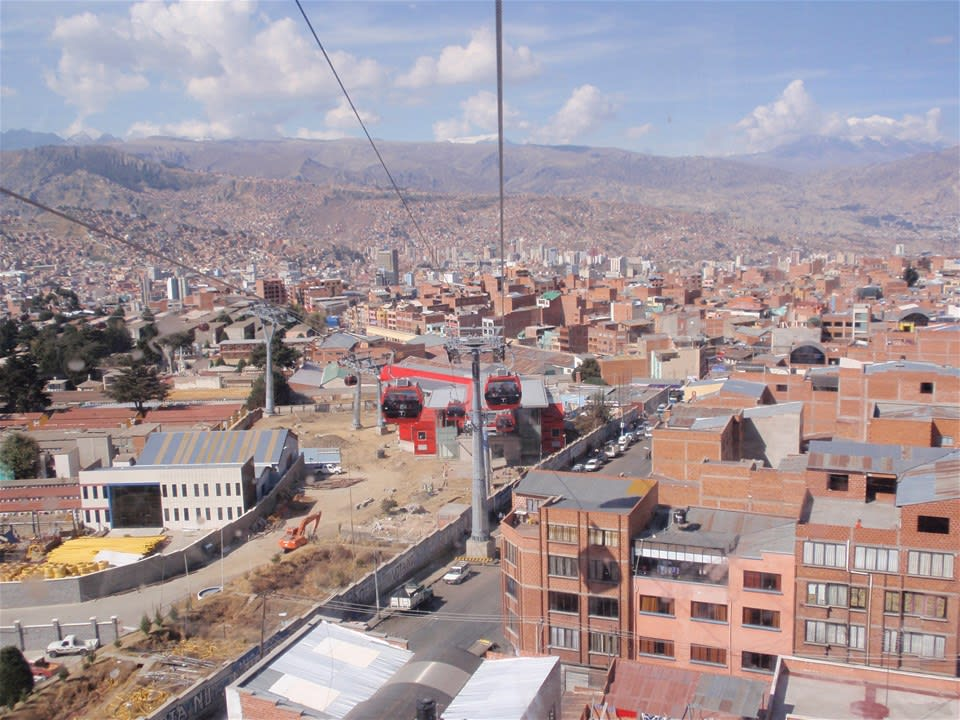Cable Car Ride Over La Paz & Dinner