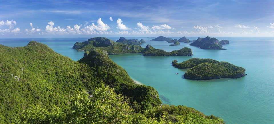 Ang Thong Marine Park by Speedboat
