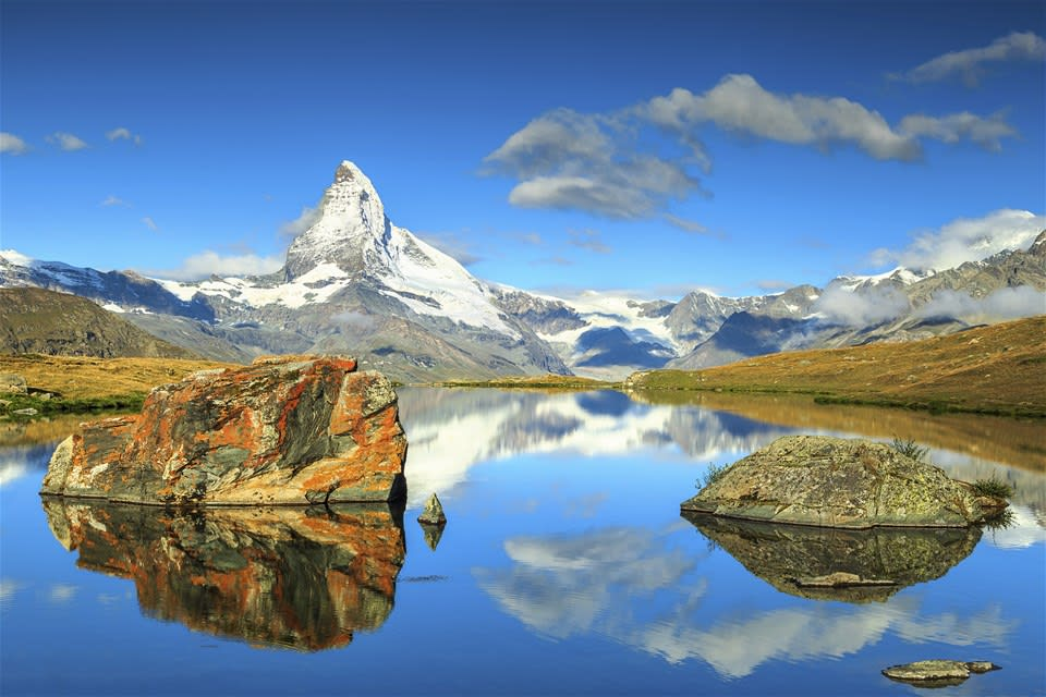 Switzerland, The Matterhorn & Glacier Express