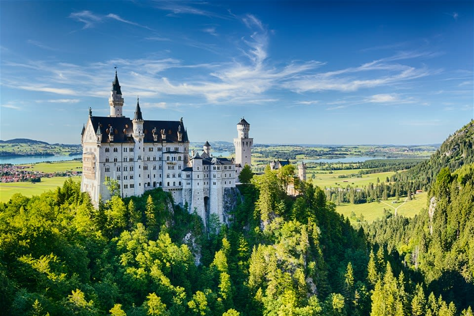 Royal Castles of Neuschwanstein and Linderhof Experience