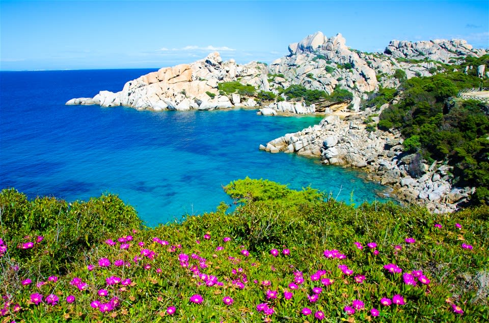 Sardinia's White Sands & Turquoise Waters