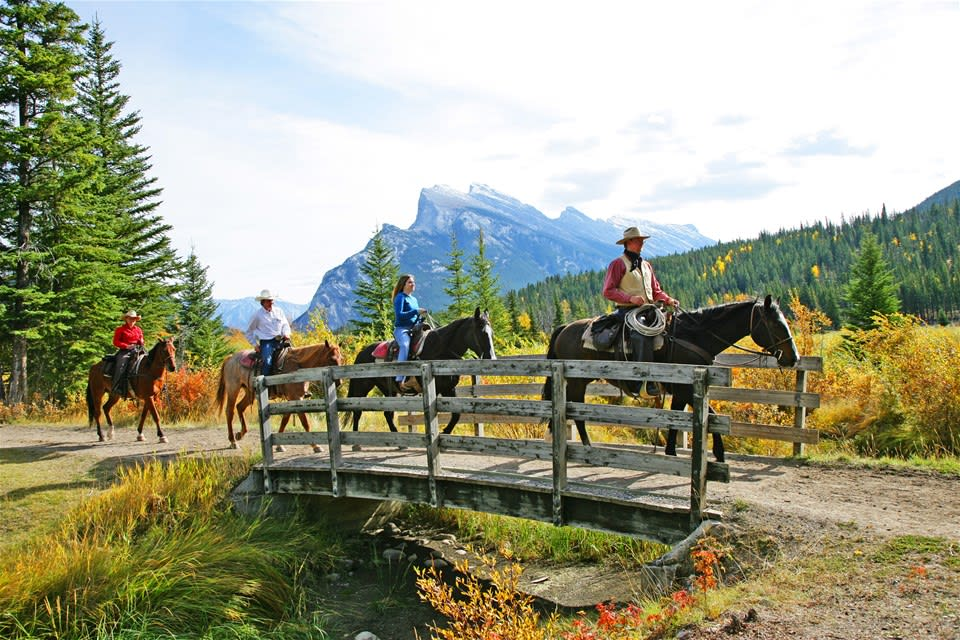 Bow River Trail Ride