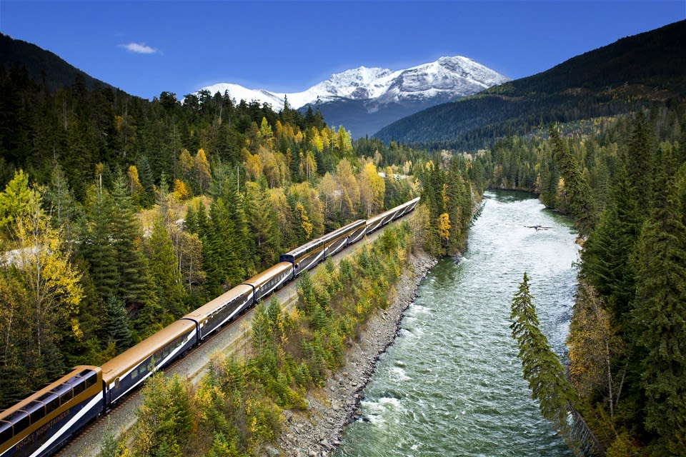 Rocky Mountaineer Journey Through the Clouds at Leisure