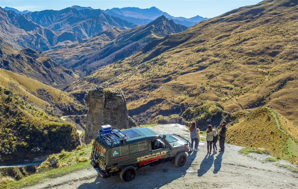 Skippers Canyon 4WD Tour