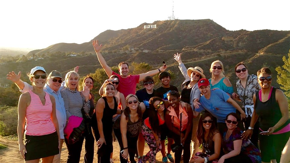 Hollywood Hills Sunset Guided Hike
