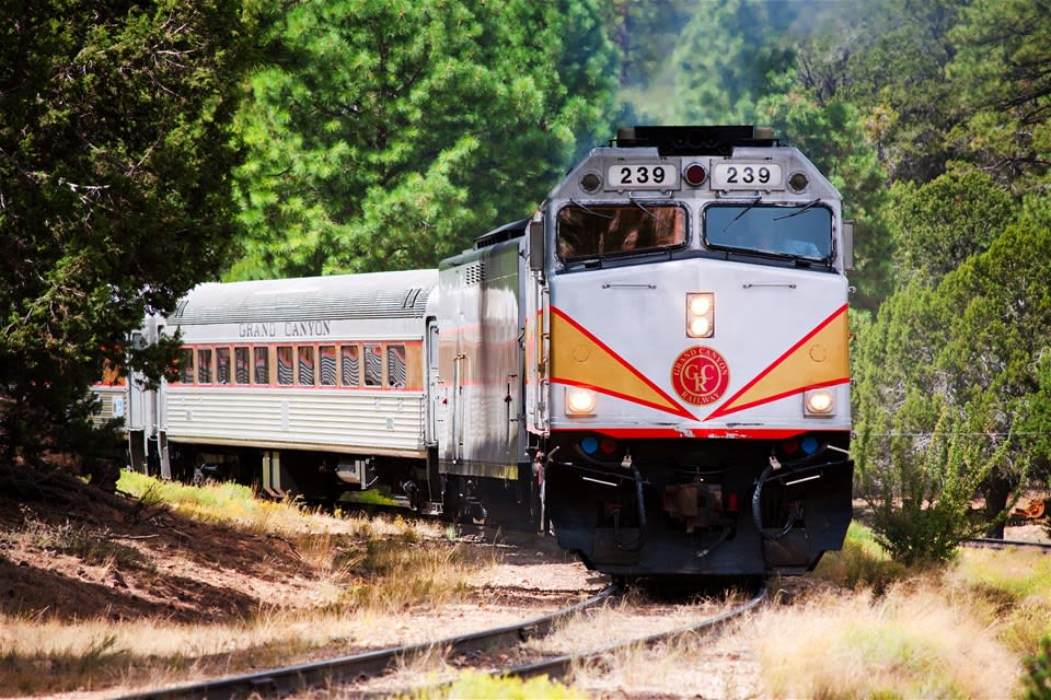 Grand Canyon Railway - Coach Class