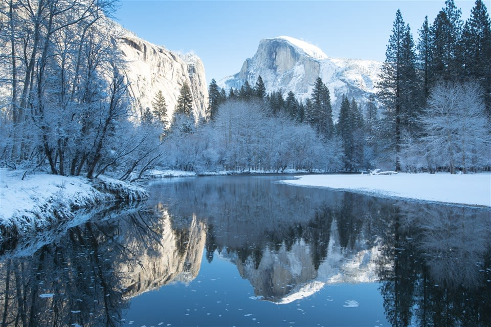 1 Night Yosemite Valley Winter Tour