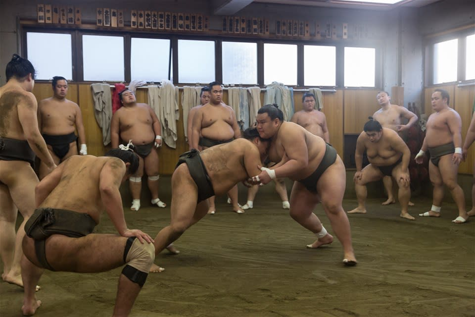 Sumo Stable Visit