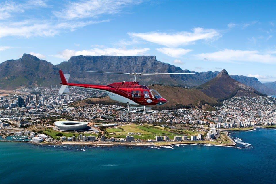 Cape Town Helicopter Flight