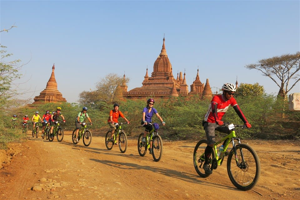 Cycle Burma (Myanmar)
