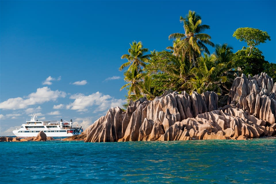 Islands Paradise in the Seychelles