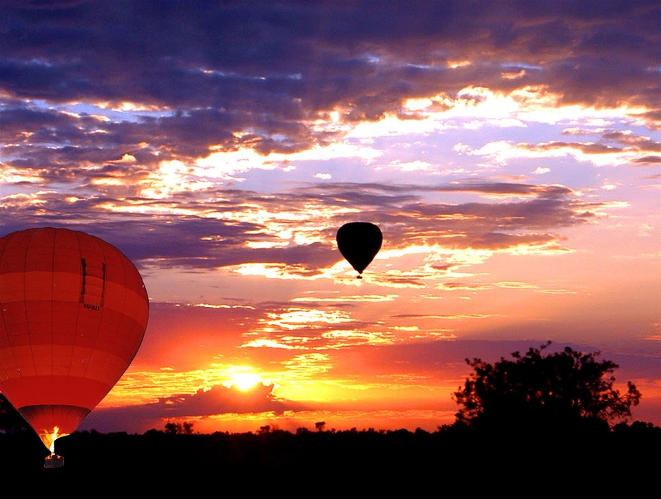Outback Hot Air Ballooning - 60 Mins