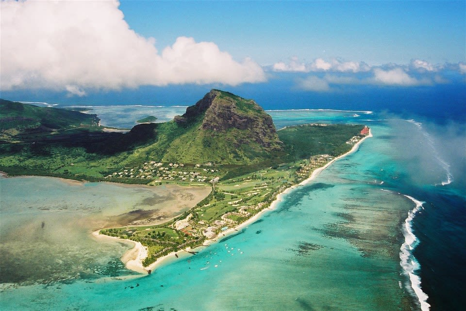 Mauritius Helicopter Flight