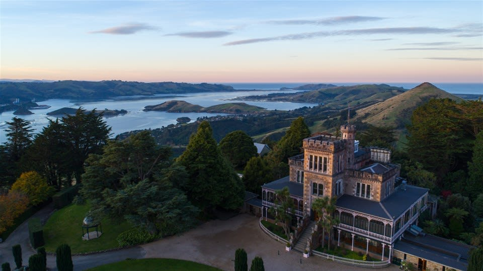 Situated on the picturesque Otago peninsula with farmhouse design lies New Zealand's only castle, Larnach Castle