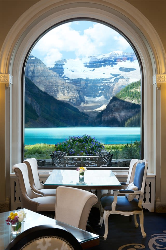 Fairmont Chateau Lake Louise Afternoon Tea