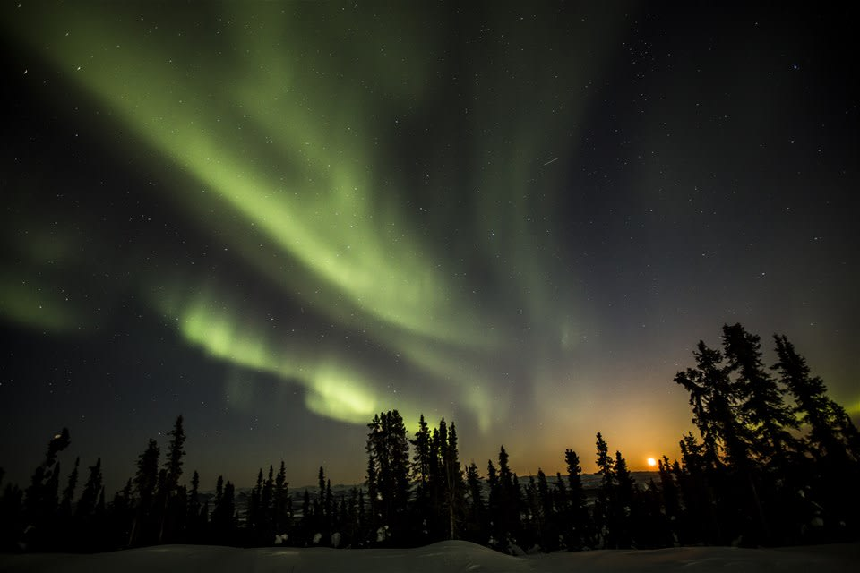 Northern Lights Of Yukon