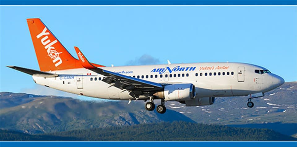 Air North- Vancouver to Whitehorse