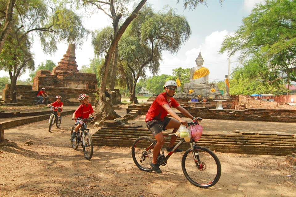 Historic Ayutthaya by Bike