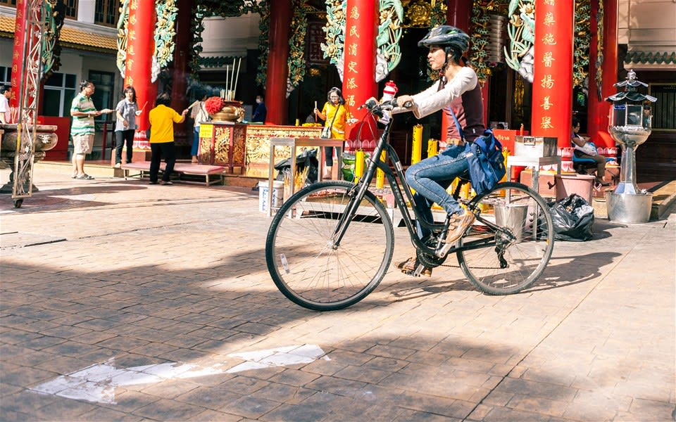 Chinatown by Bike
