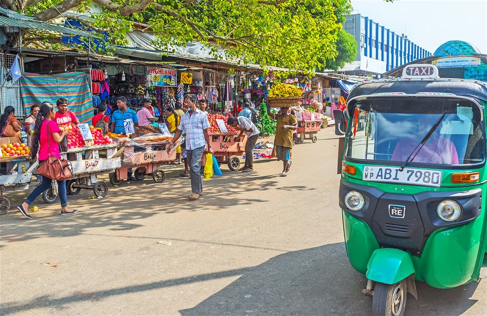 Colombo City Safari by Tuk Tuk