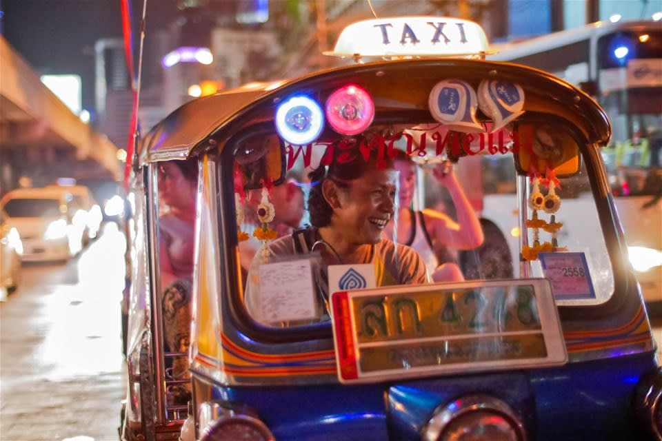 Evening Street Food Tour by Tuk Tuk