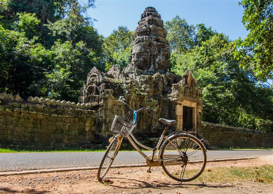 Discover Hidden Angkor by Bicycle