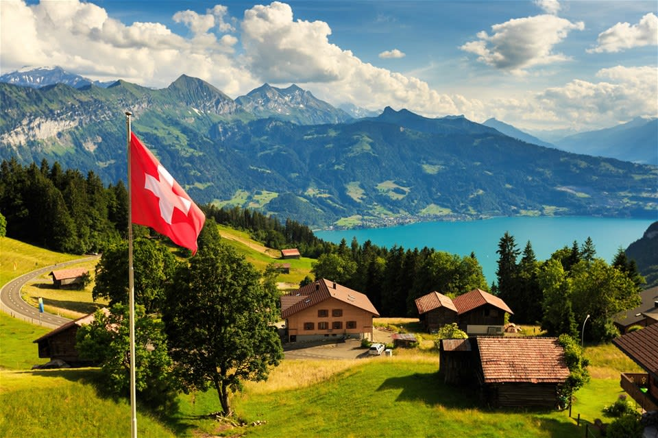 Mountains, Valleys & Lakes of Switzerland