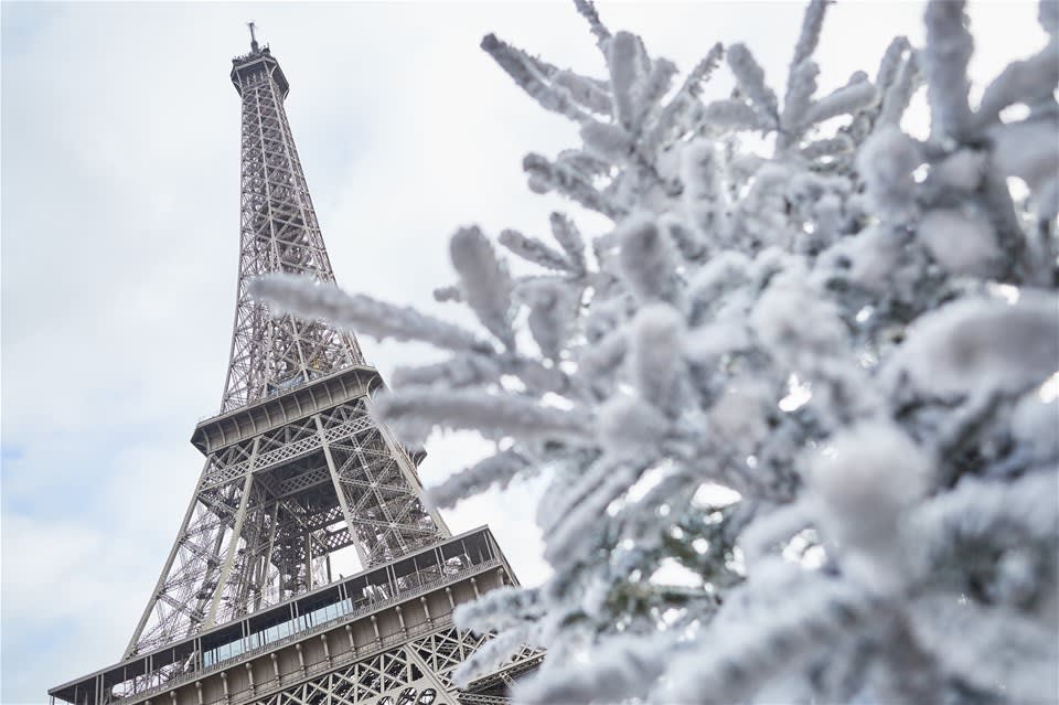 Christmas in Paris by Eurostar