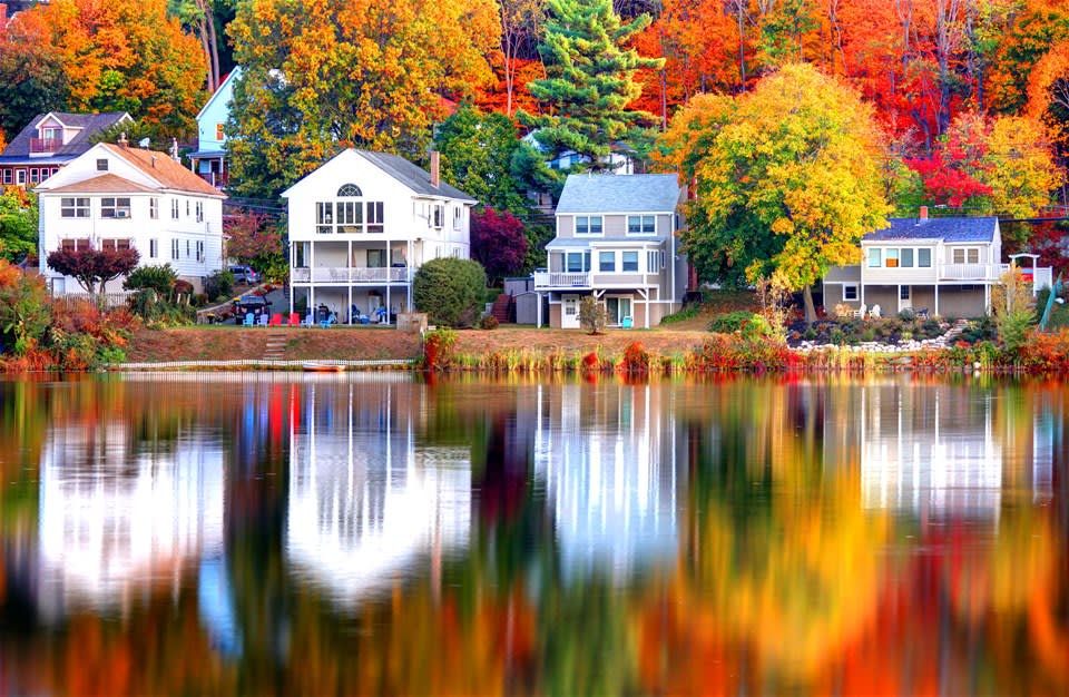Grand Tour of New England & Canada in the Fall