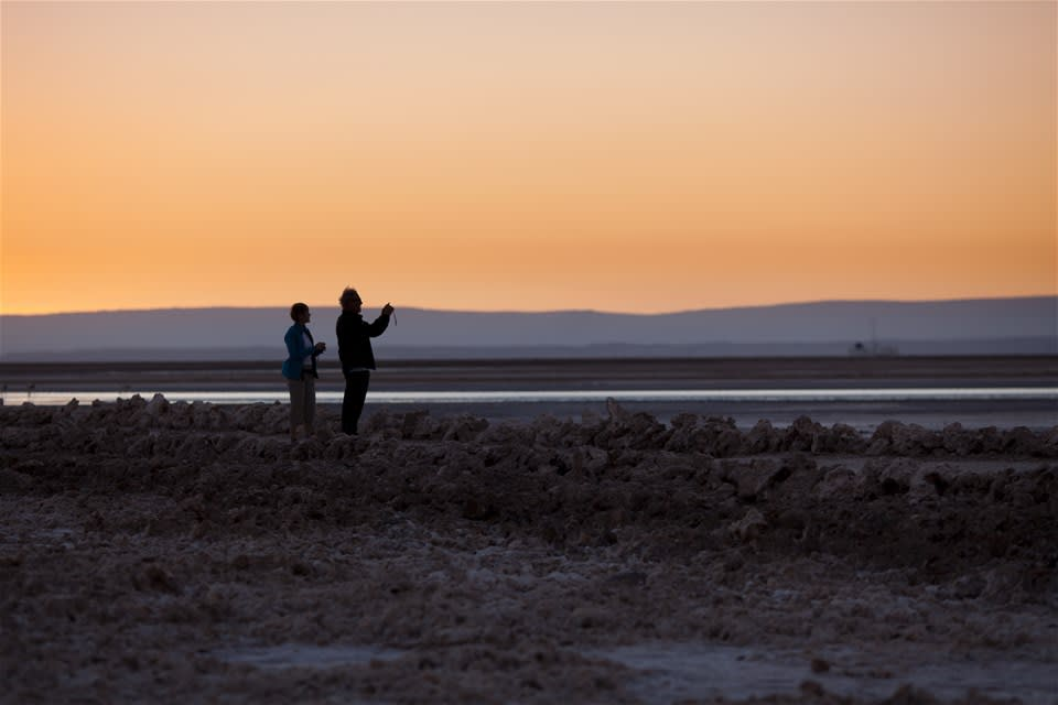 A Picture Perfect Sunrise over the Atacama Desert