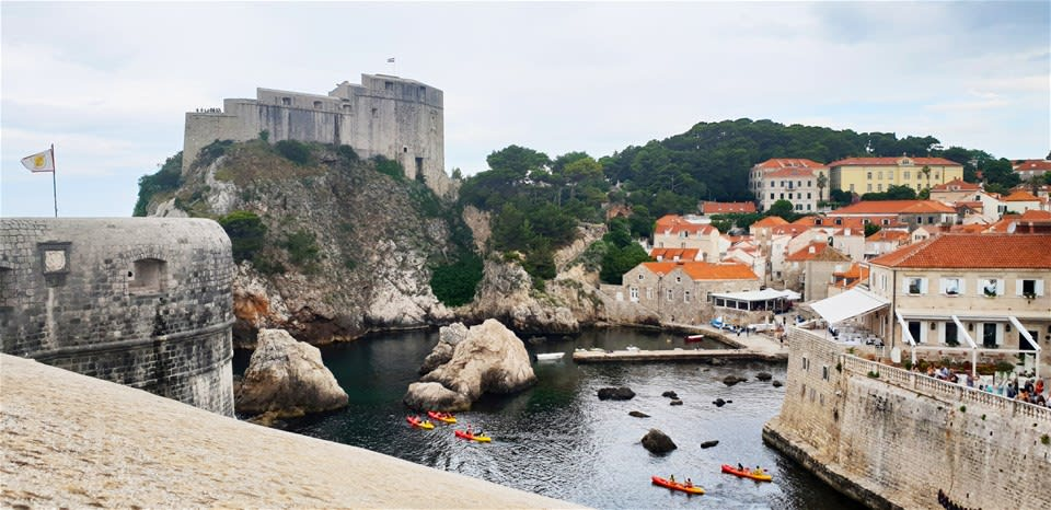 Dubrovnik Sea Kayaking
