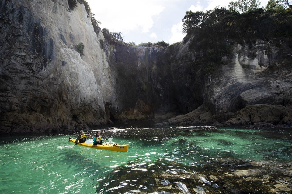 Cathedral Cove Kayaking Tour