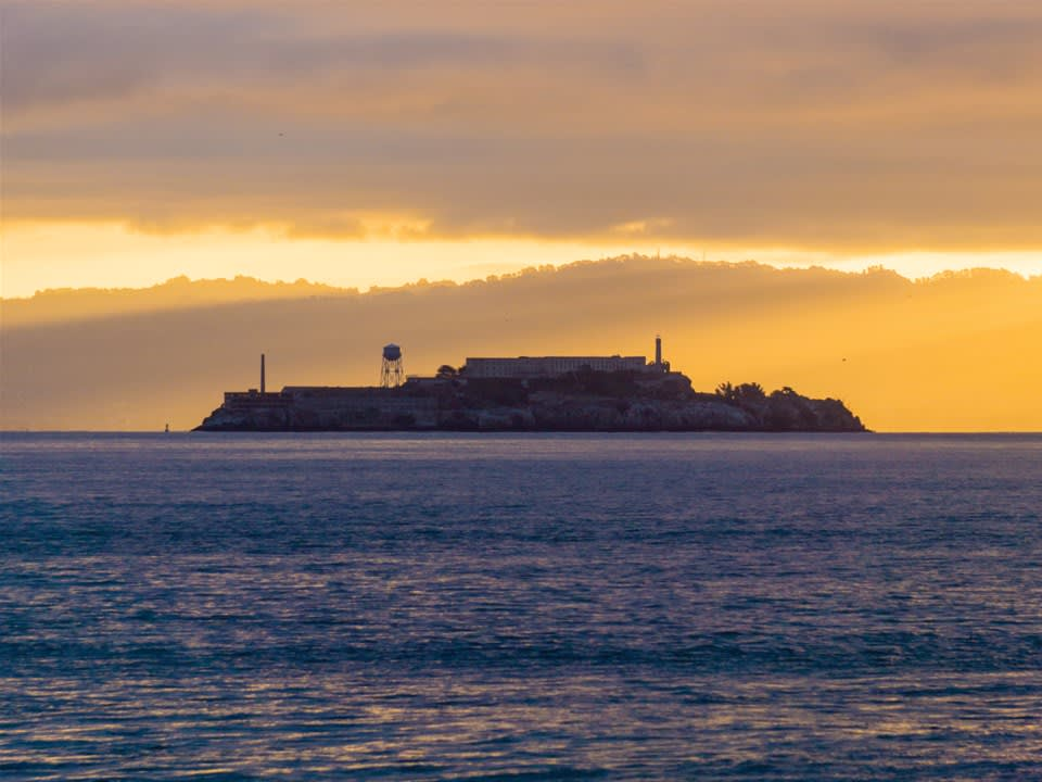 Alcatraz by Night with Bay Cruise & San Francisco 2 Day Hop-On-Off bus
