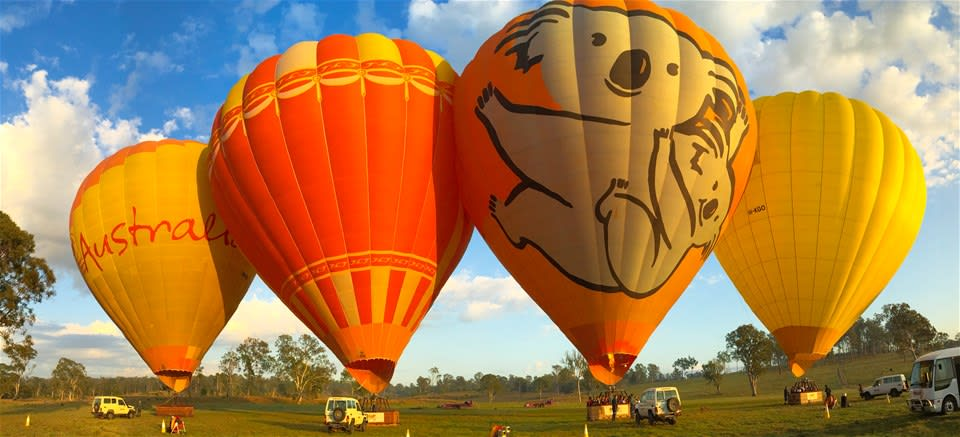 Gold Coast Hinterland Hot Air Balloon Flight