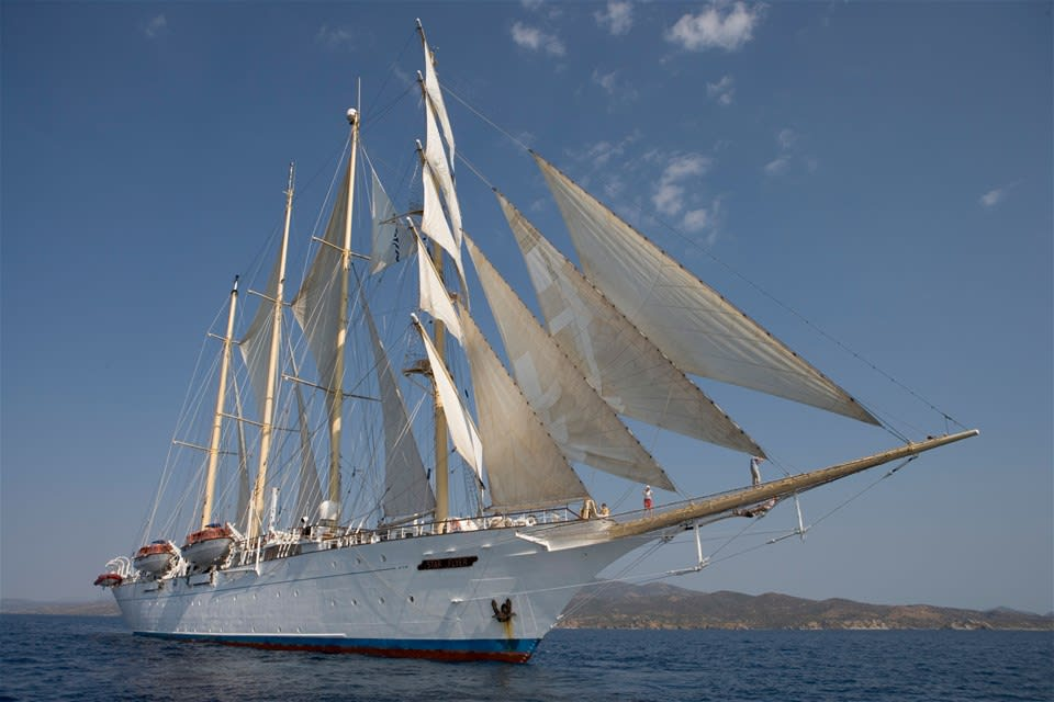 Greek Island Hopping by Tall Ship