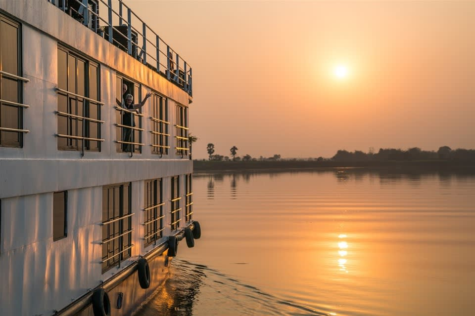 The Historic Lower Ganges on Board ABN Rajmahal/ABN Sukapha