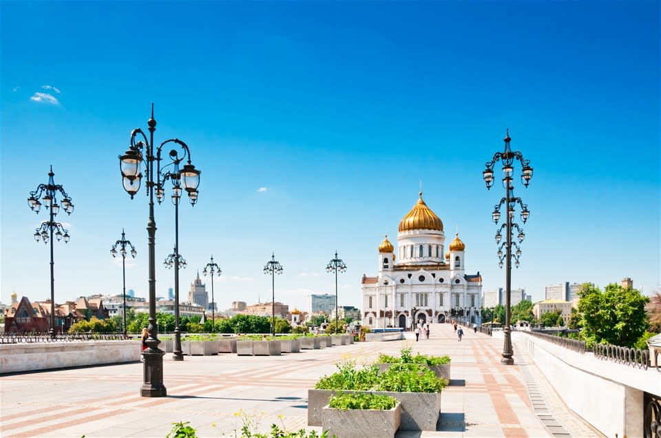 Moscow City and Metro Tour