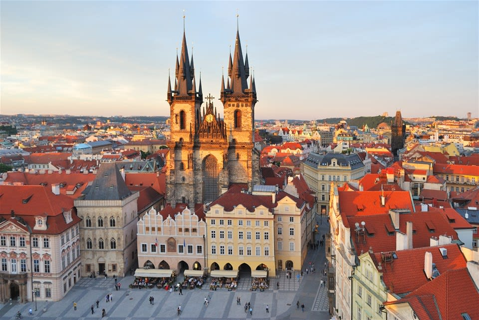 Central Europe's Iconic Cities by Rail