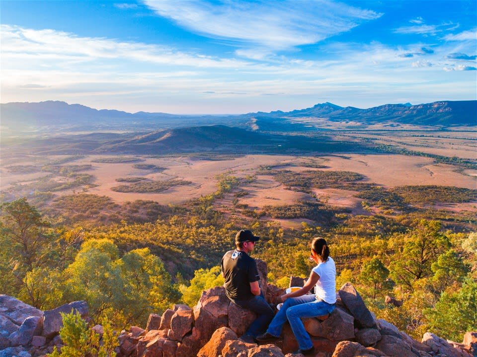 Flinders Ranges: Heli Hike & Camp Extension