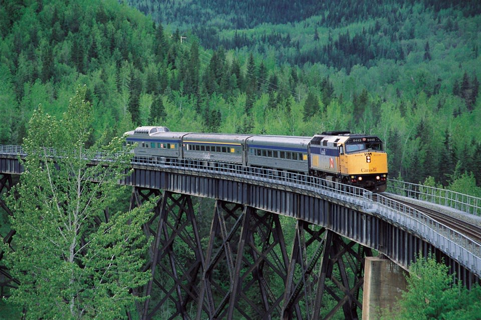 The Skeena - VIA Rail Journey
