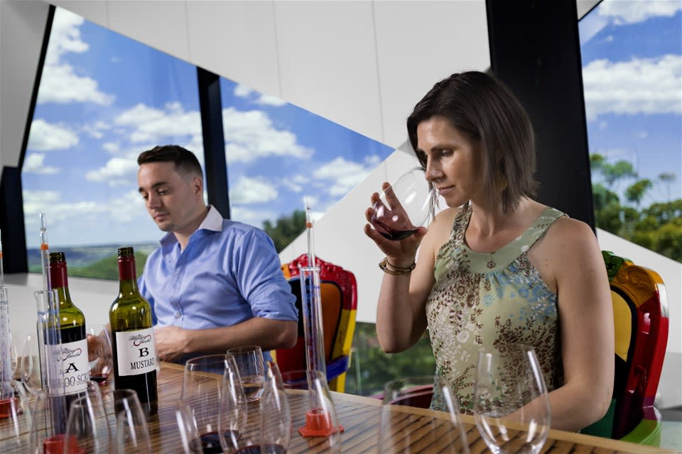 Ultimate Winery Experiences - The Blending Bench of d'Arenberg