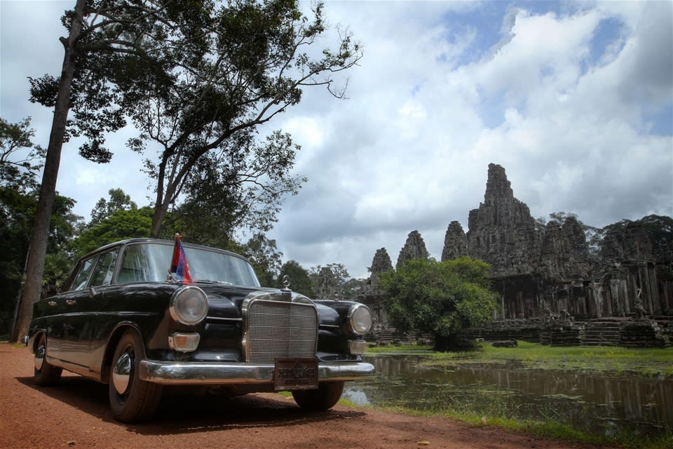 Angkor Wat with 60's Style & Sophistication