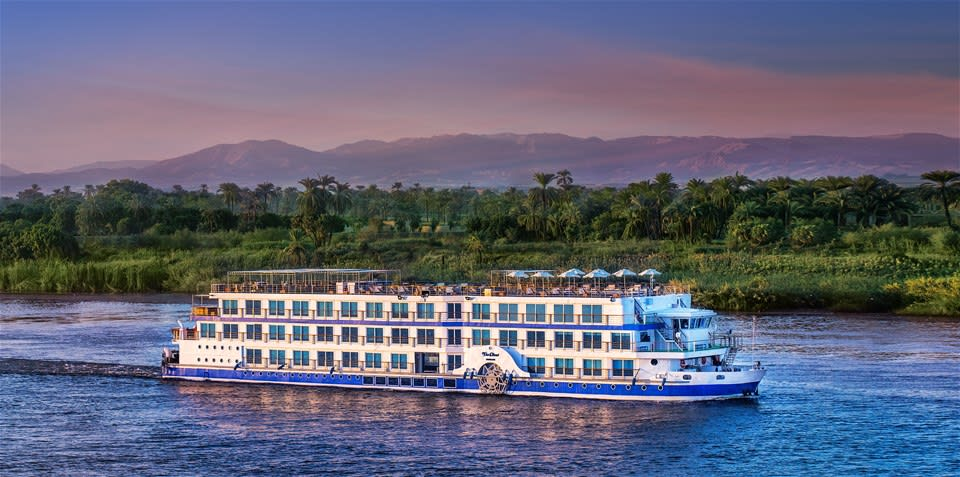 Oberoi Philae - 4 night Nile Cruise Aswan-Luxor