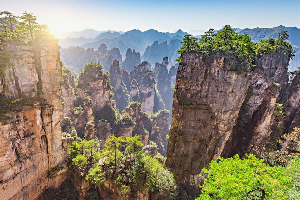 Magical Mountains Of Zhangjiajie