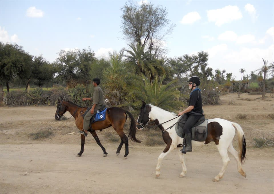 Horseriding through the Aravalli Hills