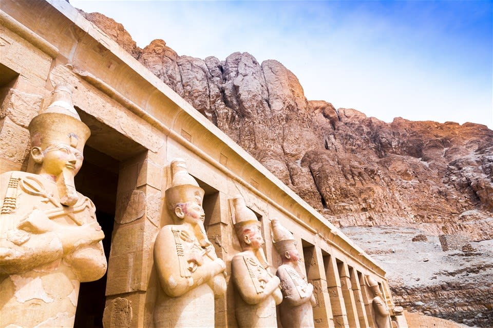 Valley of the Kings, Queens & Temple of Hatshepsut