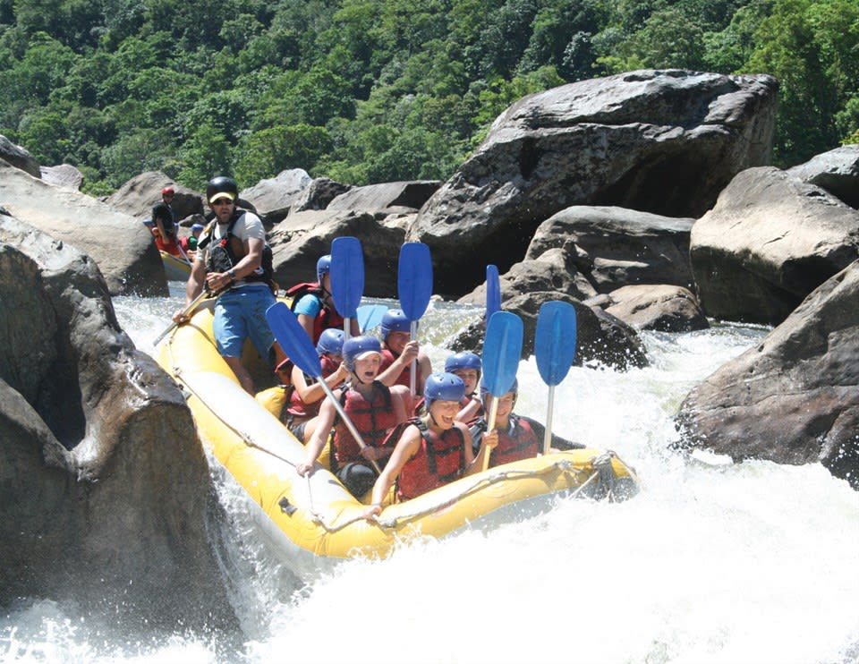 Barron River White Water Rafting