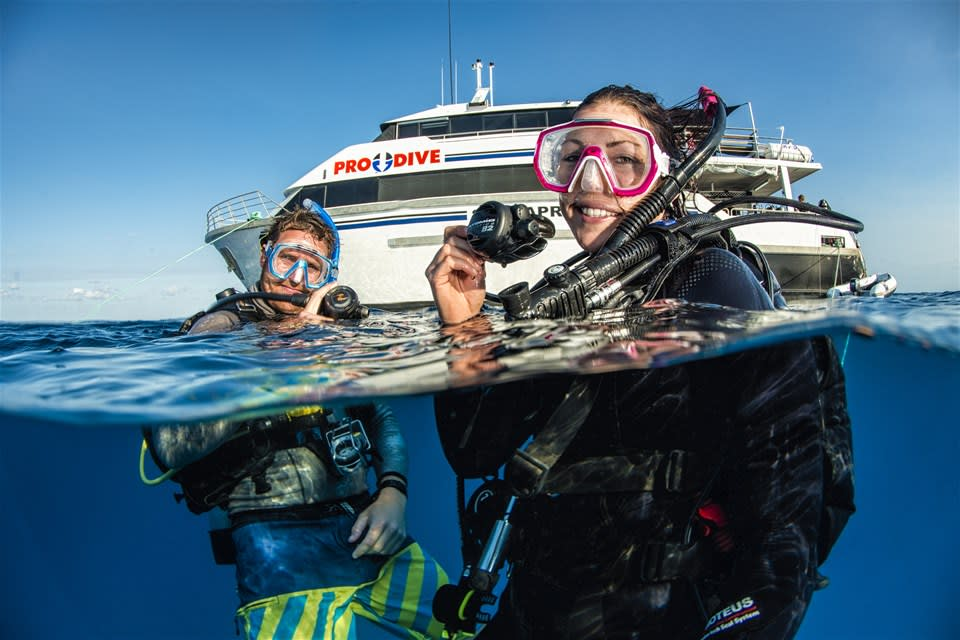 2 Night Outer Barrier Reef Liveaboard Diving Cruise
